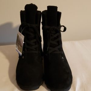 Bearpaw waterproof suede boots